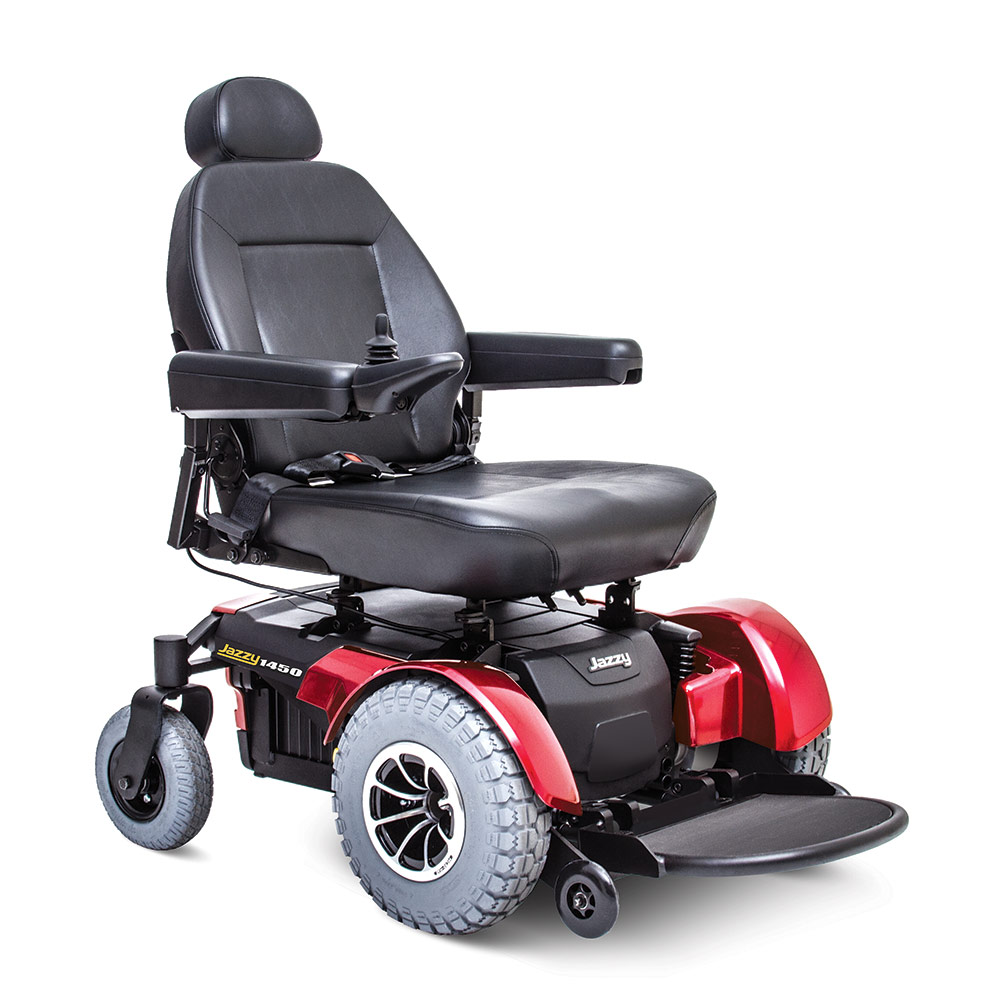 Electric Wheelchair: Jazzy 1450 Image